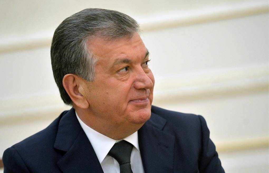 Shavkat Mirziyoyev Alexei Druzhinin/Russian Presidential Press and Information Office/TASS