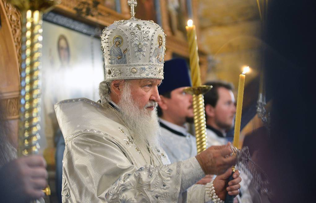 Patriarch Kirill of Moscow and All Russia Lev Fedoseyev/TASS