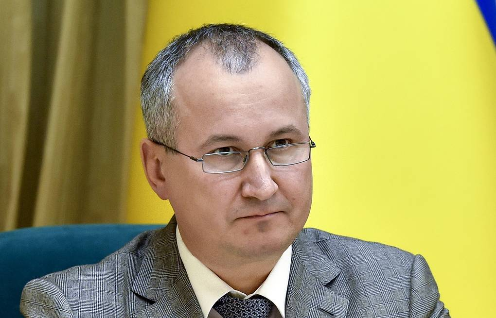 Vasily Gritsak, head of Ukraine's State Security Service Mykola Lazarenko/Ukrainian presidential press service/TASS