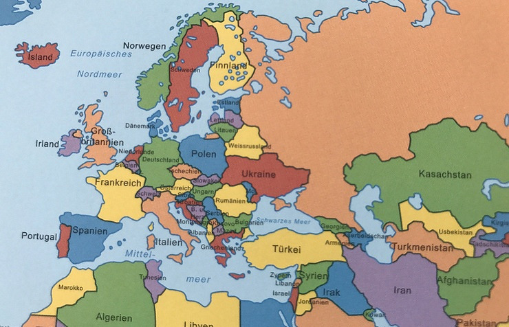 world map russia and germany Textbook With Map Featuring Crimea As Part Of Russia Published In