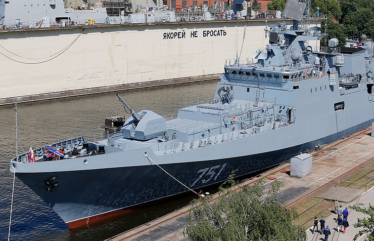 Advanced frigate Admiral Essen Vitaly Nevar/TASS