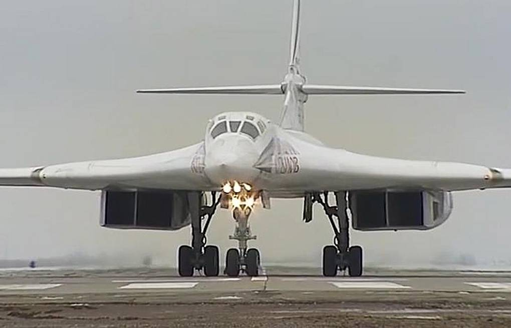 Tu-160 strategic bomber Russian Defense Ministry's Press and Information Department/TASS