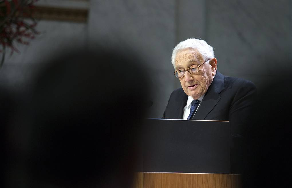 Former US Secretary of State Henry Kissinger  EPA/TERJE BENDIKSBY