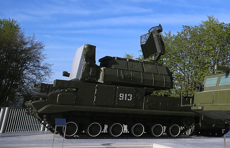Tor surface-to-air missile system Sergei Fadeichev/TASS