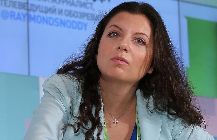 RT Chief Editor Margarita Simonyan Valery Sharifulin/TASS