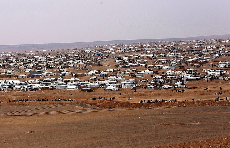 A refugee camp in Syria AP Photo/ Raad Adayleh
