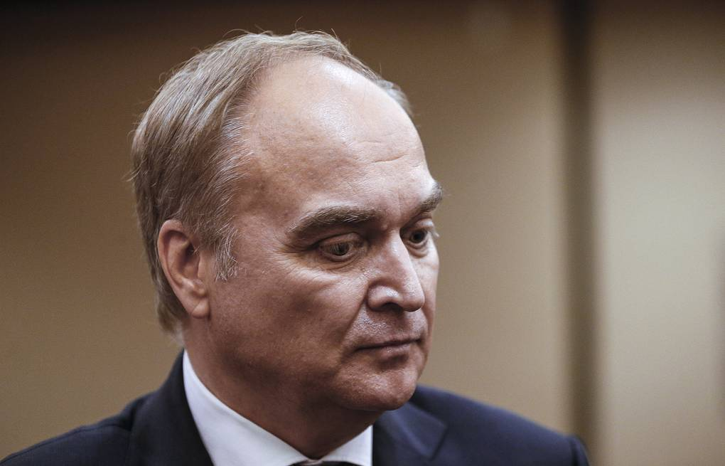Russian Ambassador to the US Anatoly Antonov Alexander Shcherbak/TASS