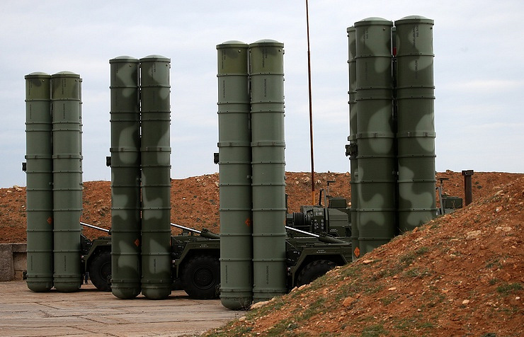 S-400 air defense missile systems Sergey Malgavko/TASS
