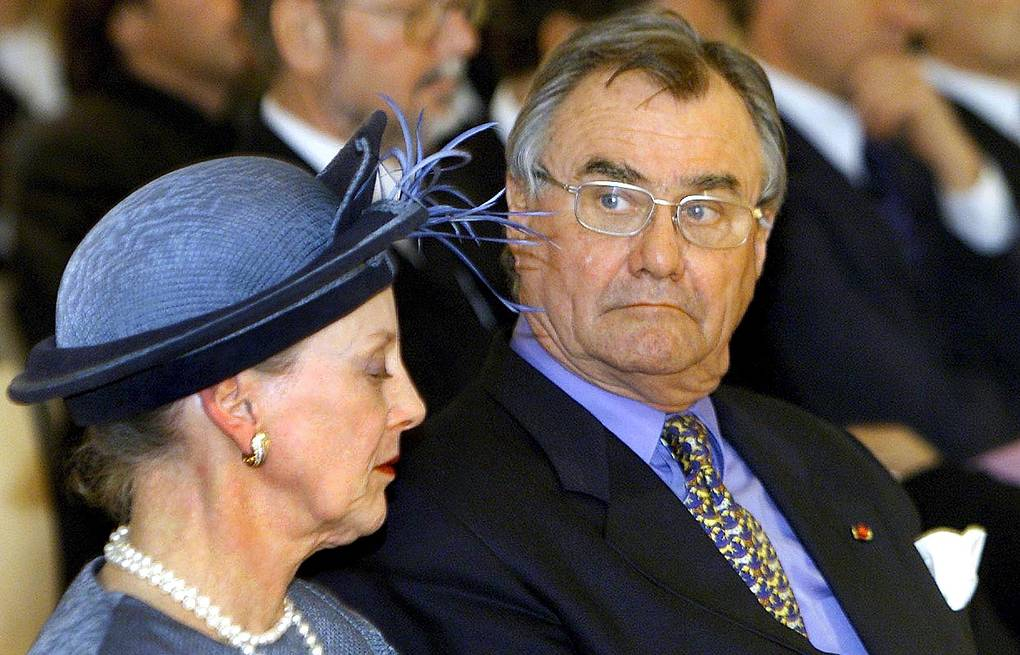 Danish Queen Margrethe II and her husband, Prince Henrik EPA-EFE/CLAUS FISKER