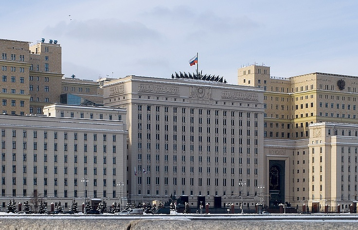 Russia's Defense Ministry  AP Photo/Alexander Zemlianichenko