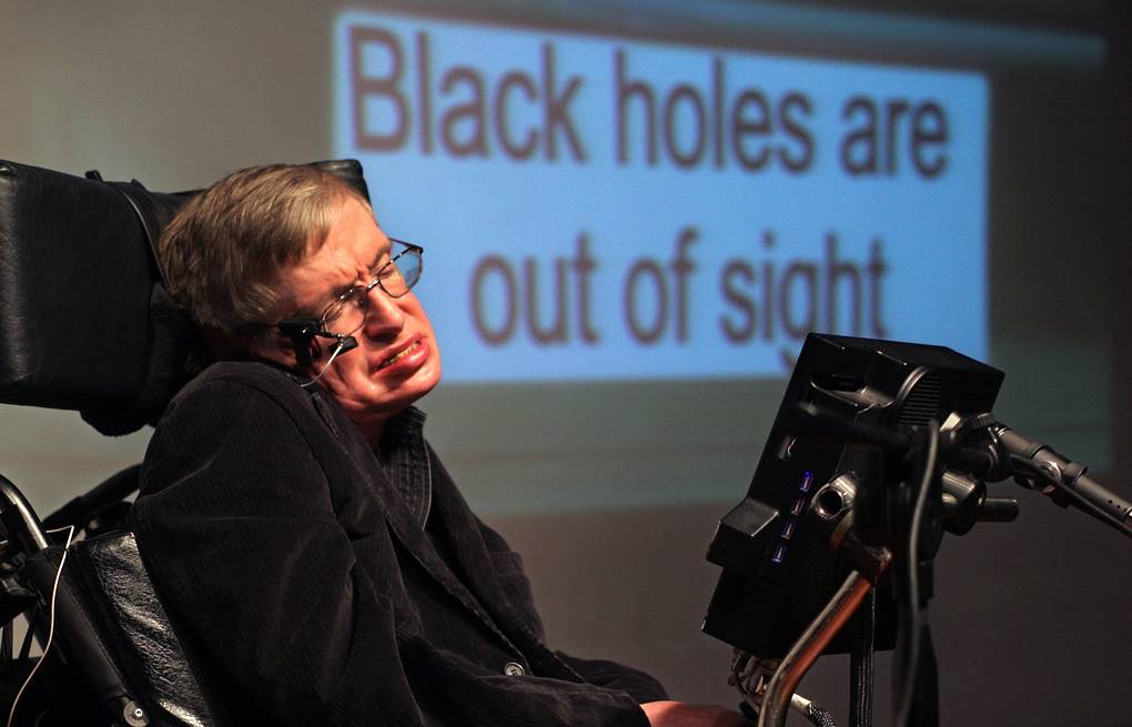 Stephen Hawking EPA-EFE/JIM HOLLANDER