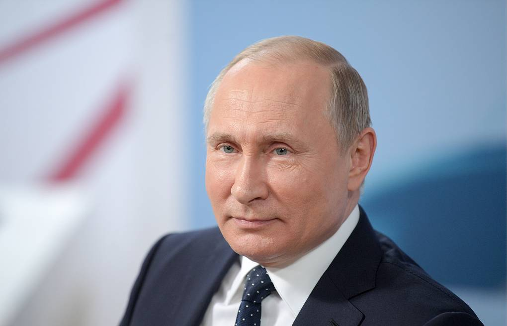 Vladimir Putin Alexei Druzhinin/Russian Presidential Press and Information Office/TASS