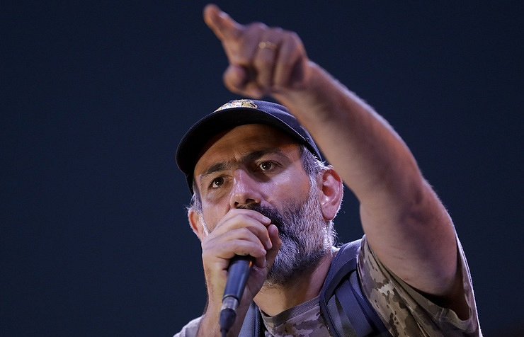 Nikol Pashinyan AP Photo/Sergei Grits