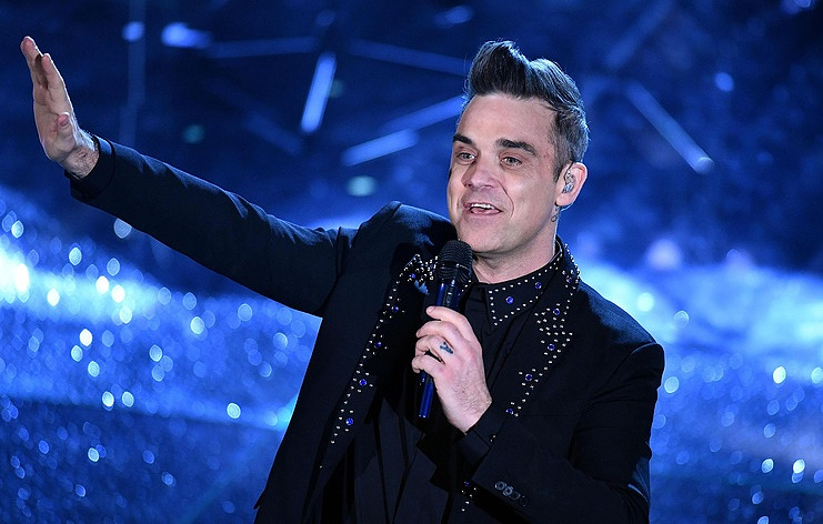 Robbie Williams EPA/ETTORE FERRARI