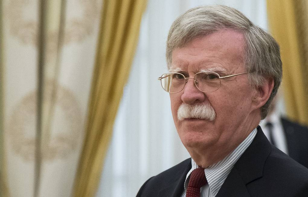 US presidential national security adviser John Bolton AP Photo/Alexander Zemlianichenko, Pool