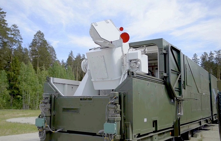 The Peresvet laser complex The Russian Defense Ministry