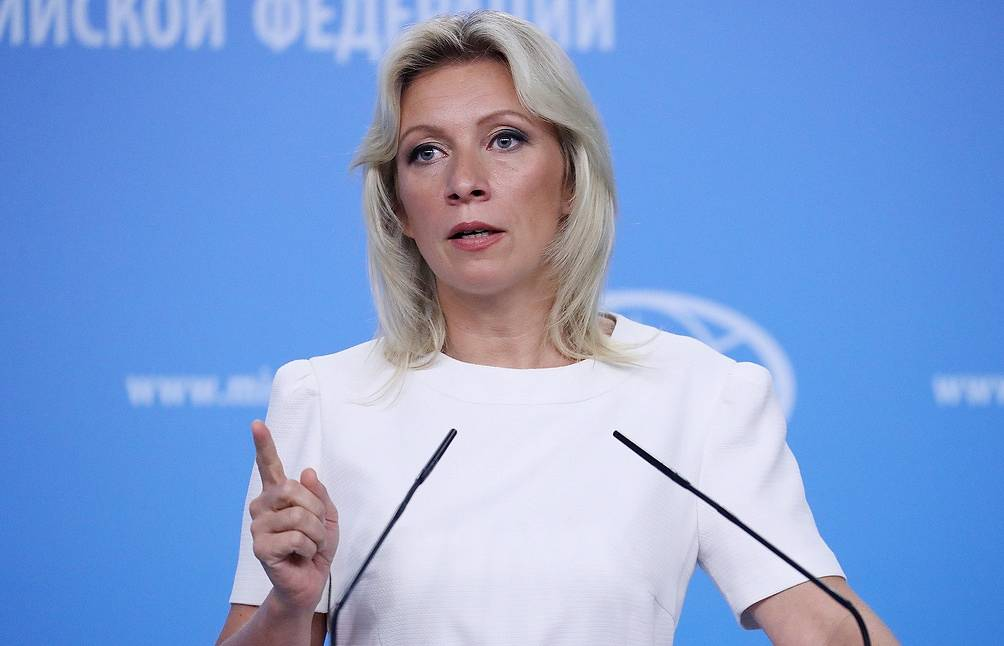 Maria Zakharova, the Russian Foreign Ministry's official spokesperson Sergei Savostyanov/TASS