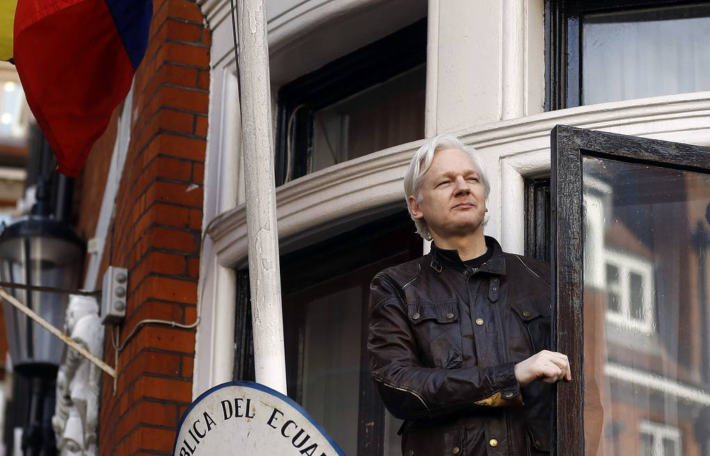 Julian Assange  AP Photo/Frank Augstein