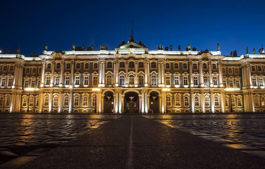 The State Hermitage Museum in St. Petersburg EPA-EFE/ETIENNE LAURENT