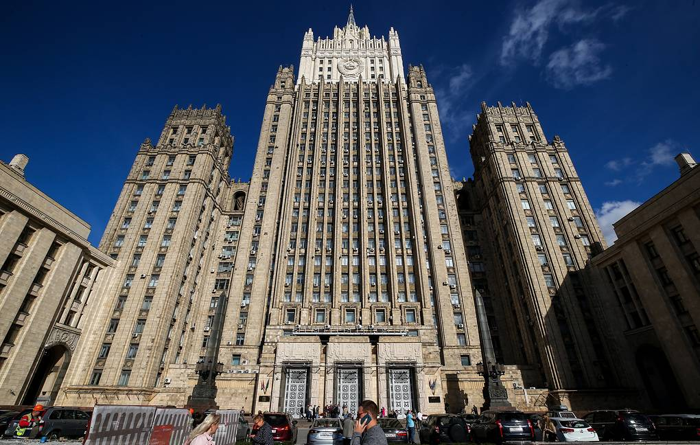 Russian Foreign Ministry Sergey Fadeichev/TASS