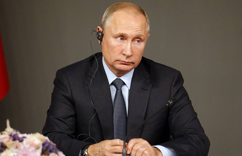 Russian President Vladimir Putin AP Photo/Lefteris Pitarakis