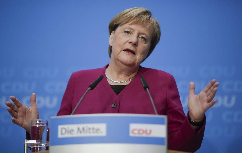 German Chancellor Angela Merkel AP Photo/Markus Schreiber