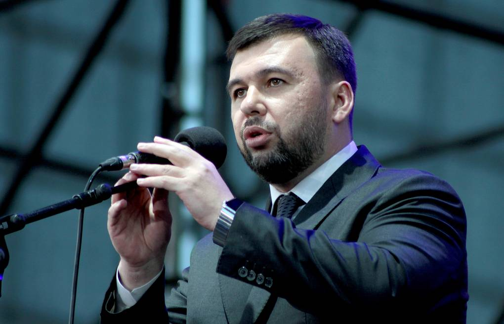 Denis Pushilin, acting head of the Donetsk People's Republic  Valentin Sprinchak/TASS
