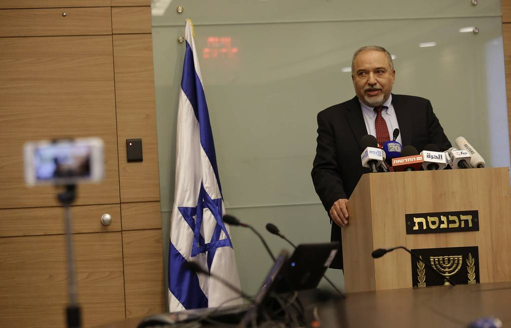Israeli Minister of Defense Avigdor Lieberman AP Photo/Ariel Schalit