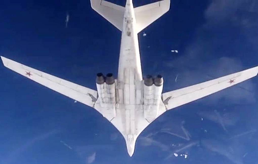 Tu-160 strategic bombers Russian Defence Ministry's Press and Information Department/TASS