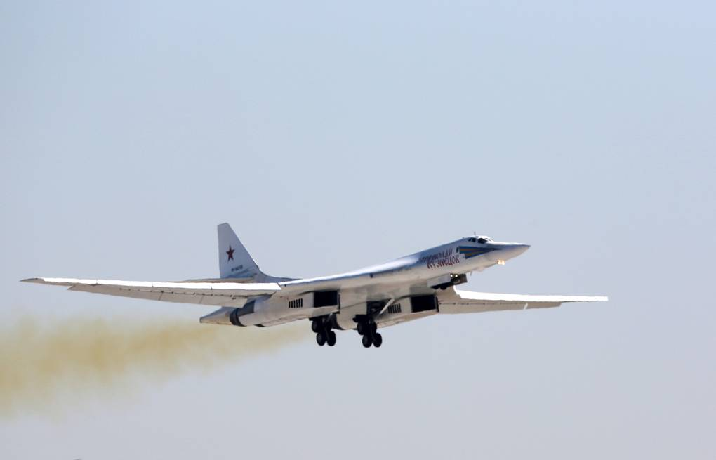 Tu-160 strategic bomber Marina Lystseva/TASS