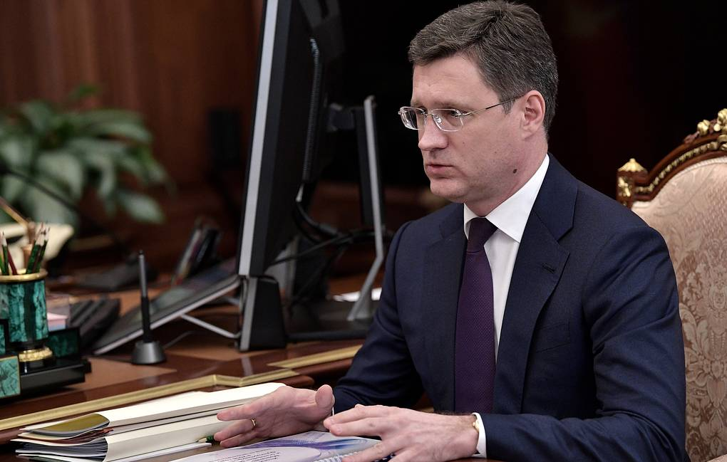 Russian Energy Minister Alexander Novak Alexei Nikolsky/Russian Presidential Press and Information Office/TASS