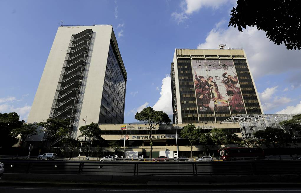 PDVSA headquarters in Caracas AP Photo/Fernando Llano
