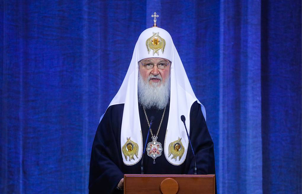 Patriarch Kirill of Moscow and All Russia Mikhail Metzel/TASS