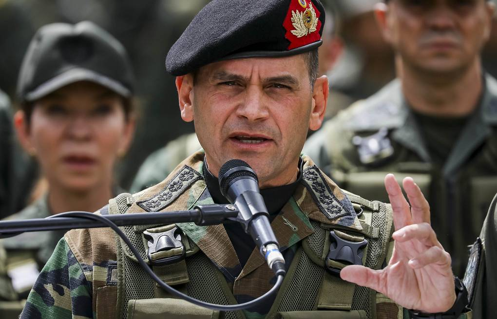 Chief of the Operational Strategic Command of the Armed Forces of Venezuela Remigio Ceballos EPA-EFE/MIGUEL GUTIÉRREZ