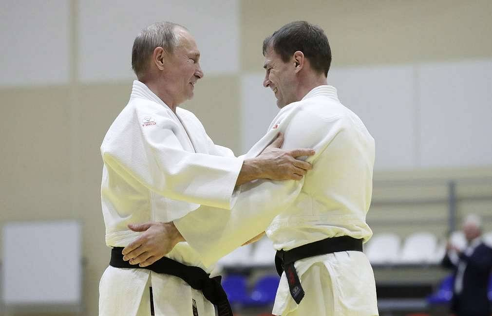 Putin Says Judo Helps Him To Get Real Sport Tass