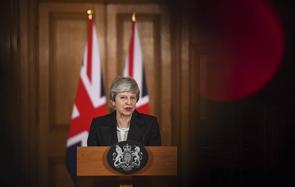 UK Prime Minister Theresa May EPA-EFE/CHRIS J. RATCLIFFE/POOL