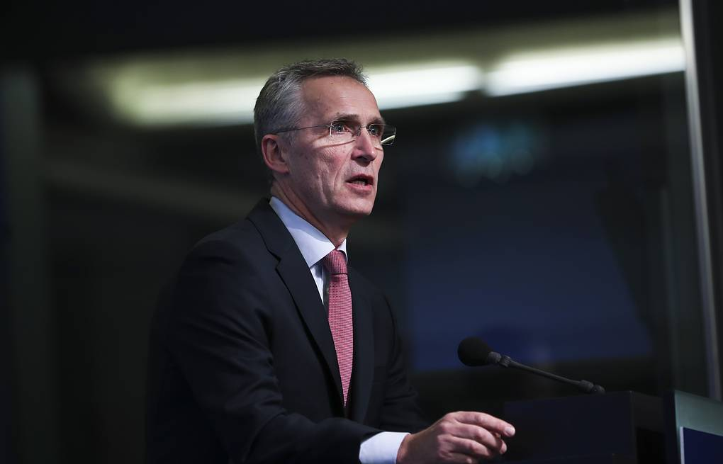 NATO Secretary General Jens Stoltenberg  AP Photo/Francisco Seco