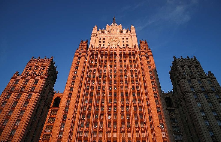 The Russian Foreign Ministry's building  Valery Sharifulin/TASS