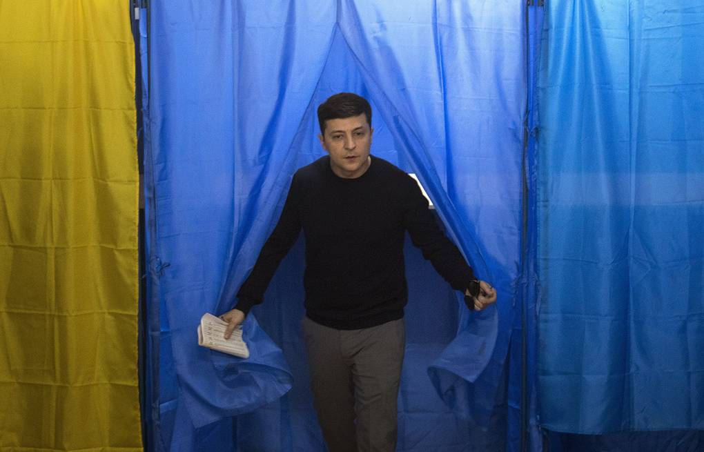 Vladimir Zelensky  AP Photo/Emilio Morenatti