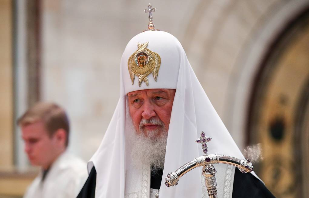 Patriarch Kirill of Moscow and All Russia  Mikhail Tereshenko/TASS