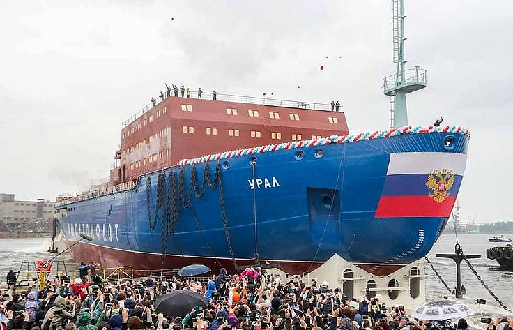 The Ural nuclear-powered icebreaker Petr Kovalev/TASS