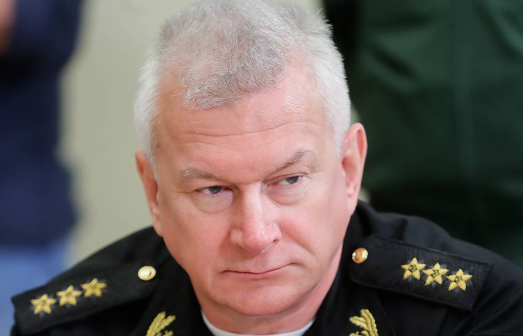 Commander-in-Chief of the Russian Navy Admiral Nikolai Yevmenov Mikhail Metzel/TASS