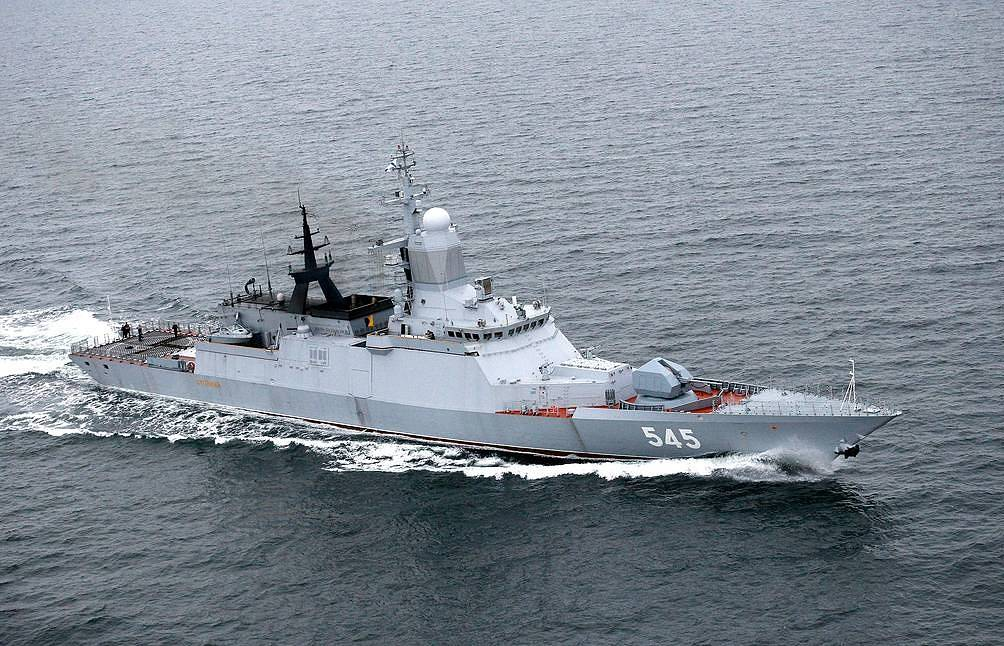 The Stoikiy corvette Vitaly Nevar/TASS