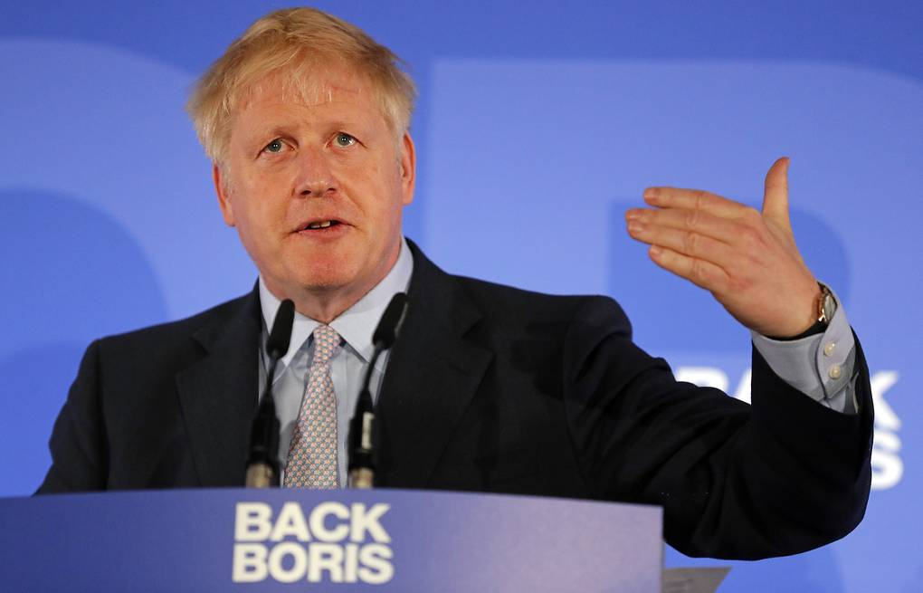 Boris Johnson AP Photo/Frank Augstein