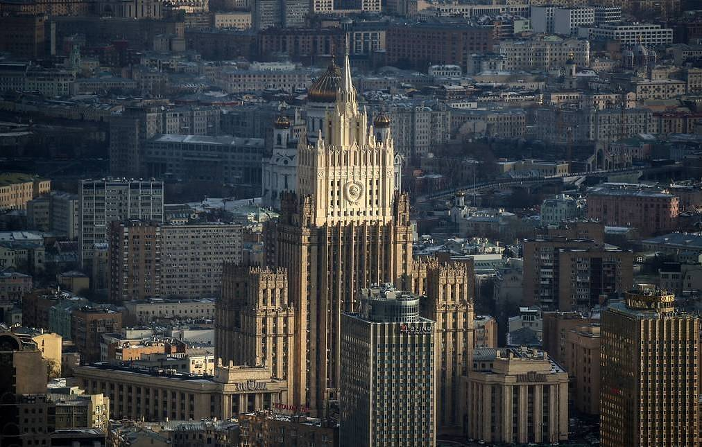 Russian Foreign Ministry Valery Sharifulin/TASS