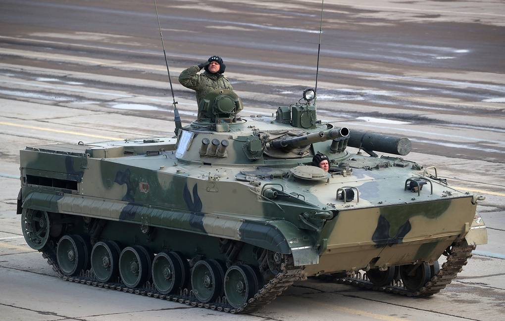 BMP-3 infantry fighting vehicle Sergei Bobylev/TASS