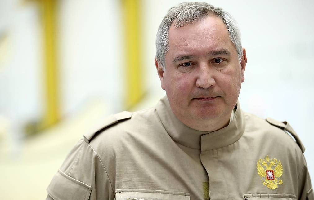 Roscosmos Director-General Dmitry Rogozin Valery Sharifulin/TASS