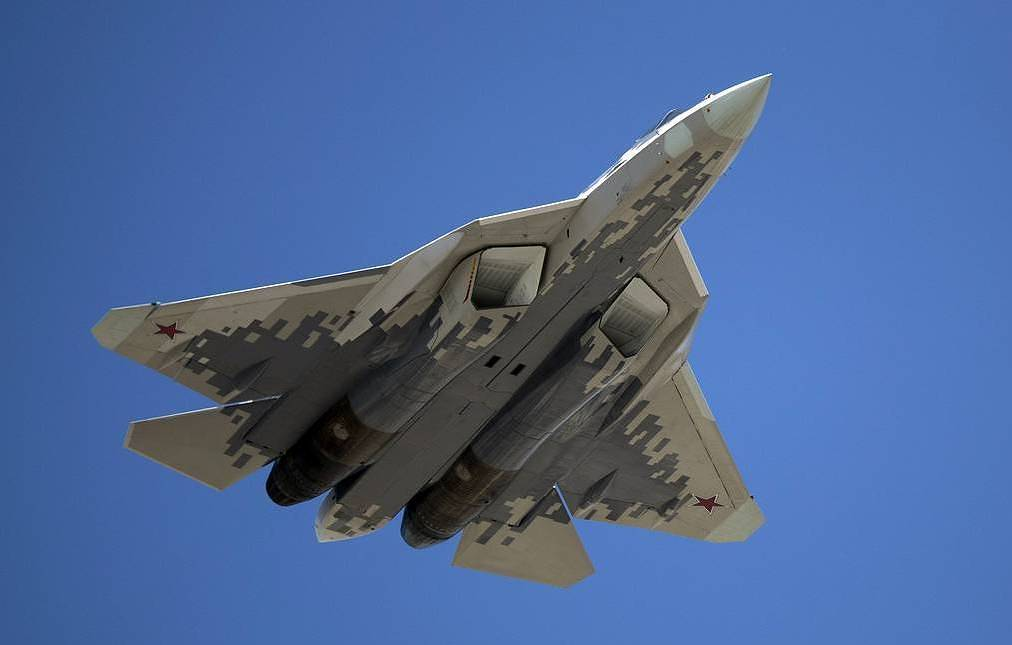 Su-57 fighter jet AP Photo/Pavel Golovkin