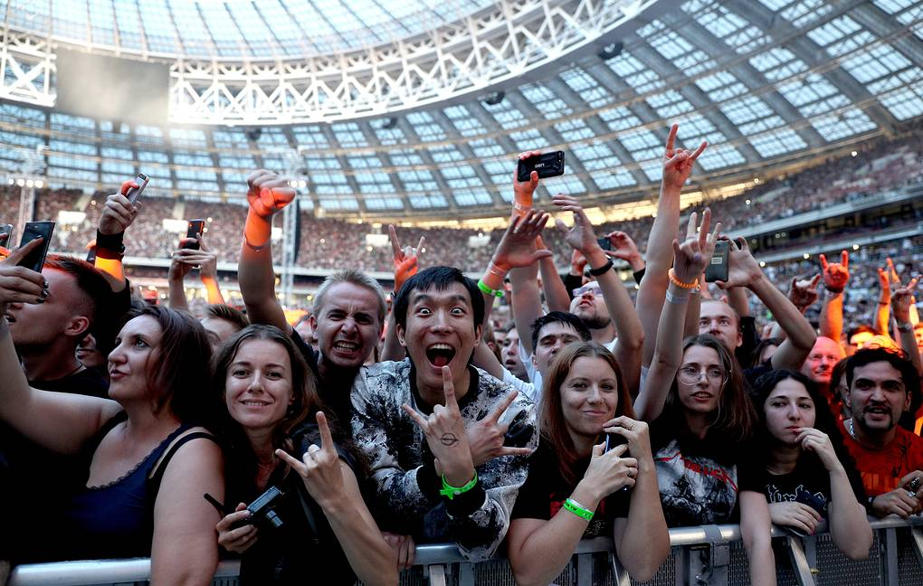 Metallica concert in Moscow Gavriil Grigorov/TASS