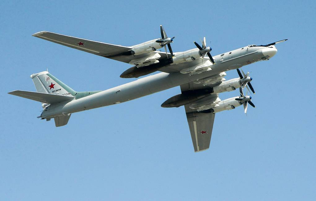 Tu-95MS strategic bomber Mikhail Tereschenko/TASS